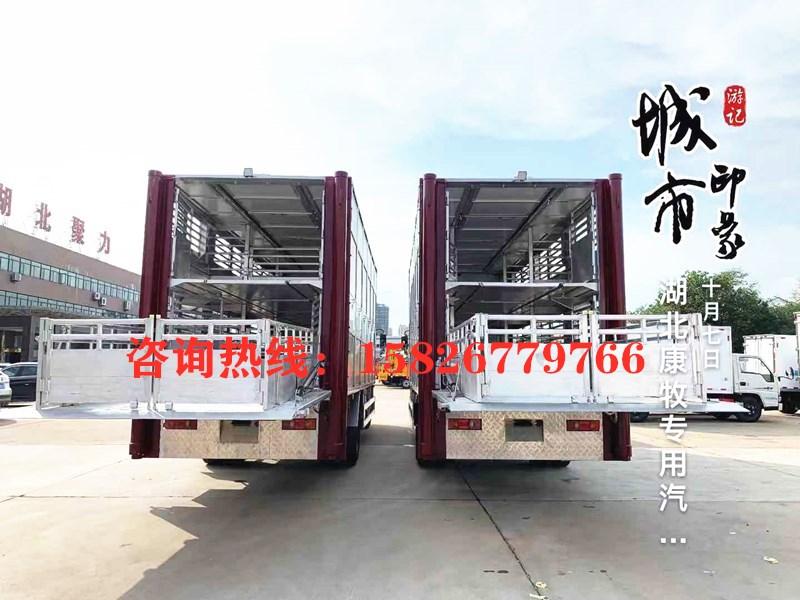 6米4猪苗运输车 畜禽运输车_高清图片