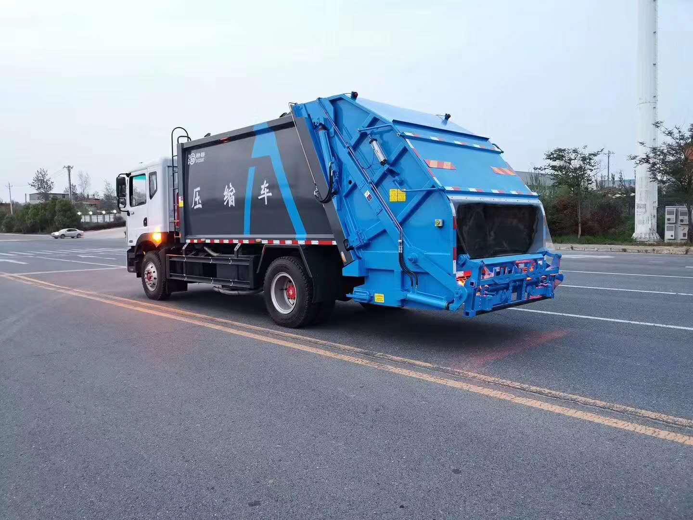 東風大多利卡D912方壓縮垃圾車配置圖片圖片