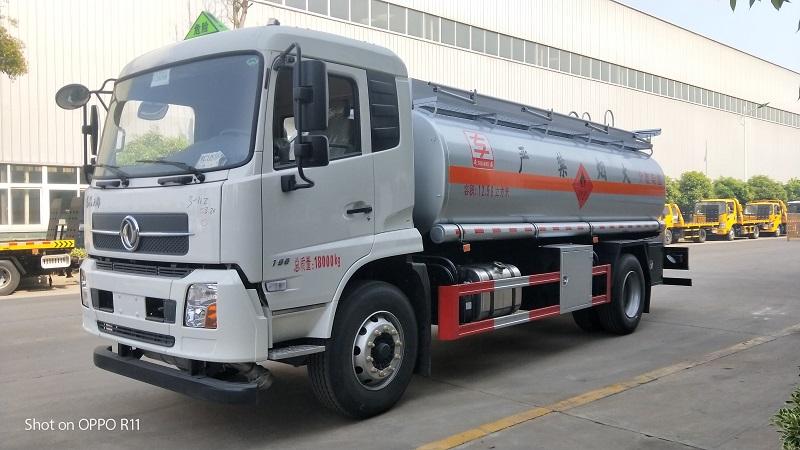 氣囊版國6東風天錦12噸油罐車 額載10噸不超重  視頻視頻
