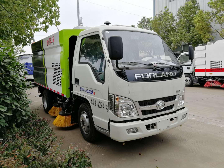 福田2.5方掃路車工作視頻,小型企業道路、廠區清掃首選產品視頻