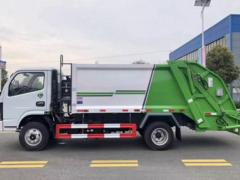 东风压缩式垃圾车 压缩式垃圾车报价多少?
