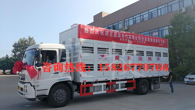 7米4猪苗运输车   康牧运猪车_高清图片