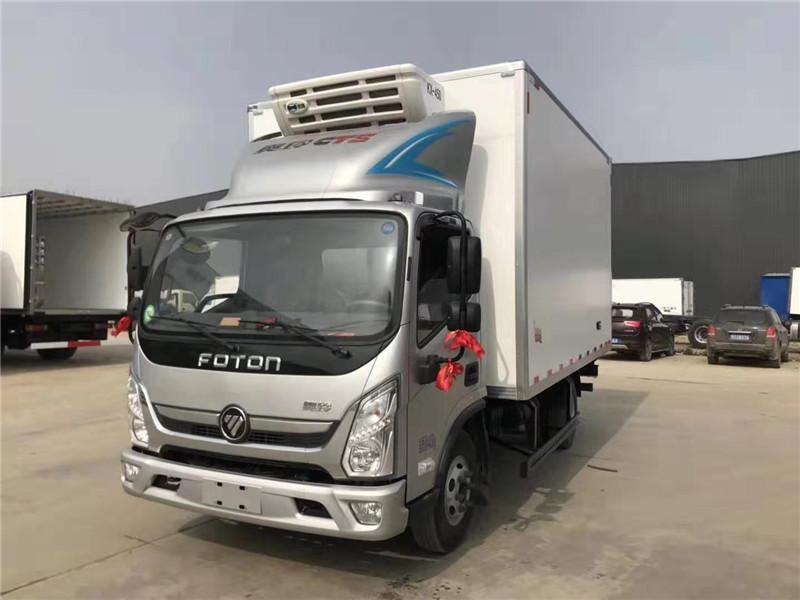 广东大佬们最爱的小型冷藏车, 国六4.2米蓝牌冷藏车钜惠上线了!