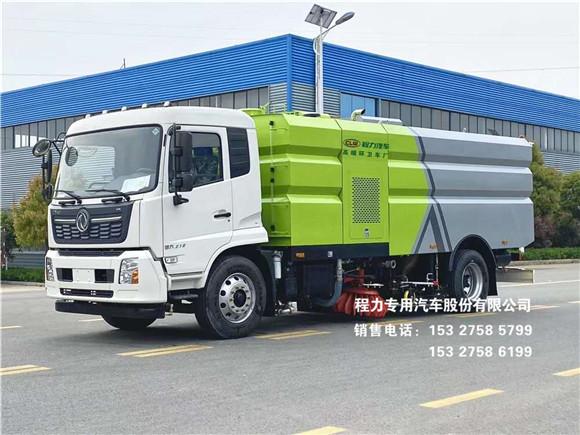 国六东风天锦16方多功能洗扫车