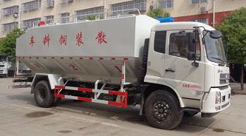 国六东风天锦饲料运输车