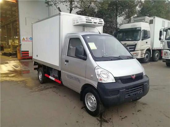 国六五菱2米5冷藏车