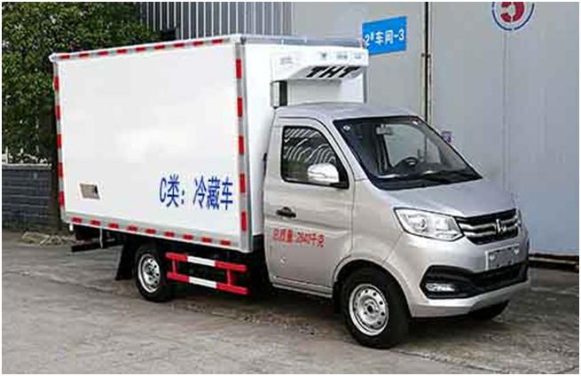 国六长安3米冷藏车