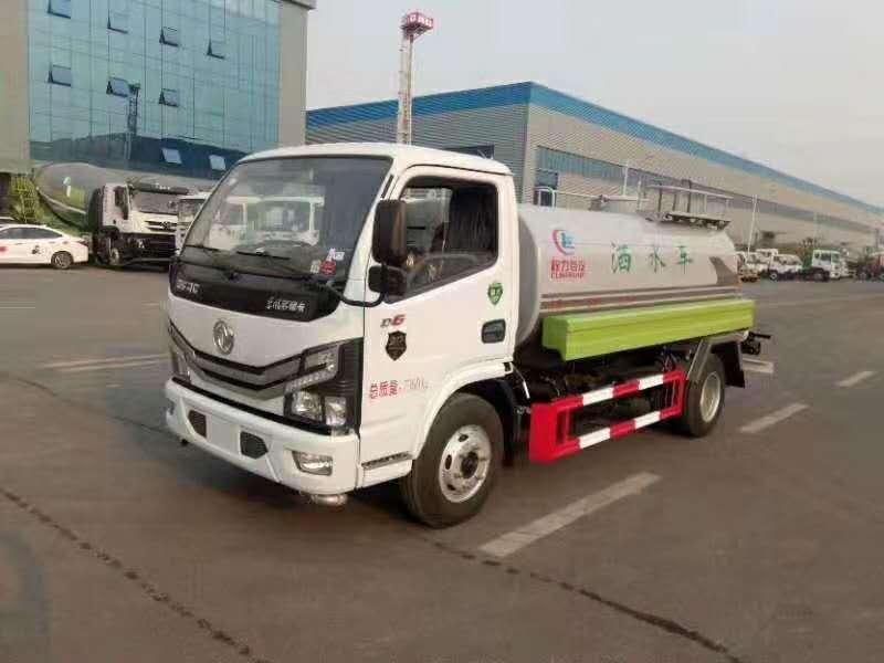 东风福瑞卡F7绿化喷洒车6方