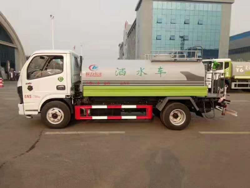 东风福瑞卡F7绿化喷洒车6方图片