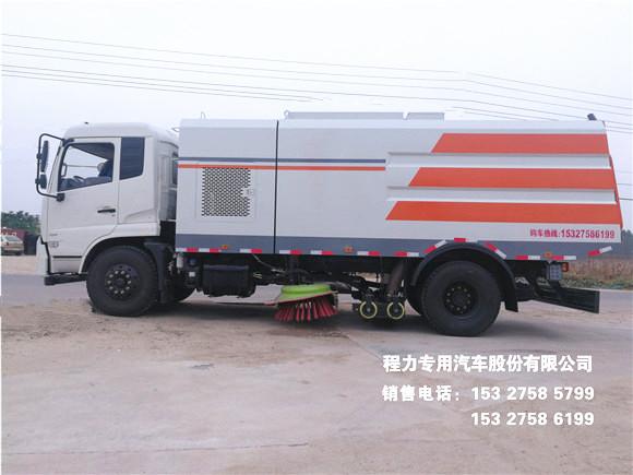 国五东风天锦9方干湿两用吸尘车图片