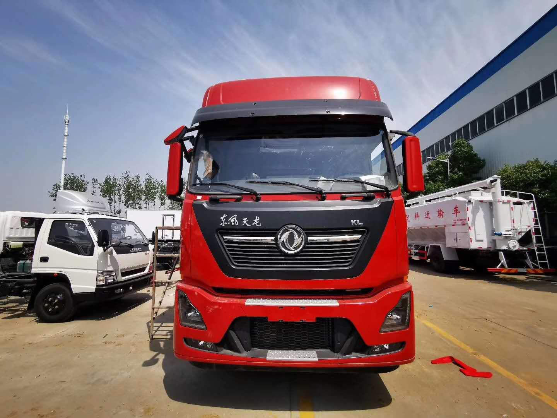 中国红东风天龙大型前四后八9米6冷藏车基本配置说明