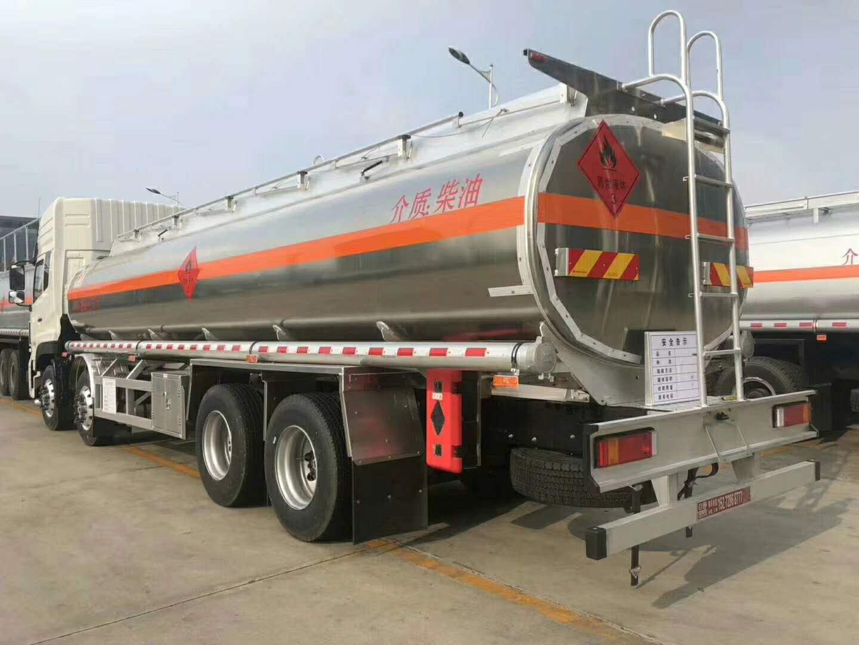 鋁合金油罐車價格20噸圖片