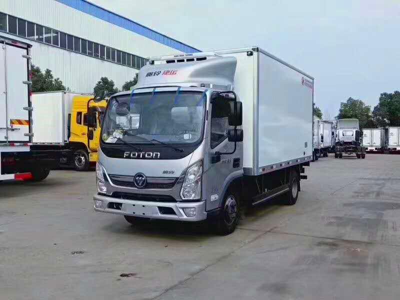 福田奥铃4米2冷藏车-4米冷藏车厂家报价