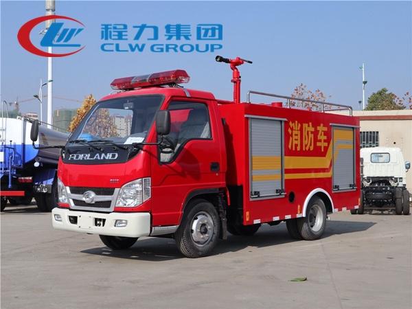 國五福田2噸微型消防車