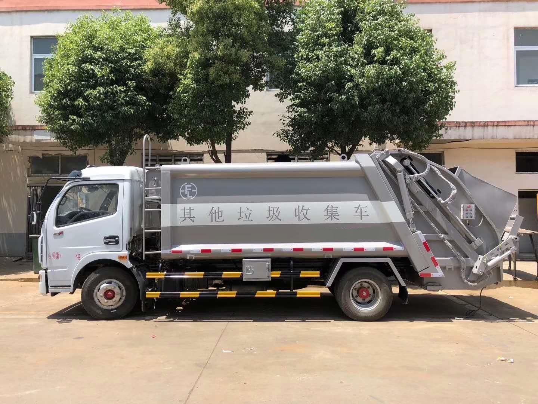国五8方压缩垃圾车城市垃圾分类助力厂家介绍