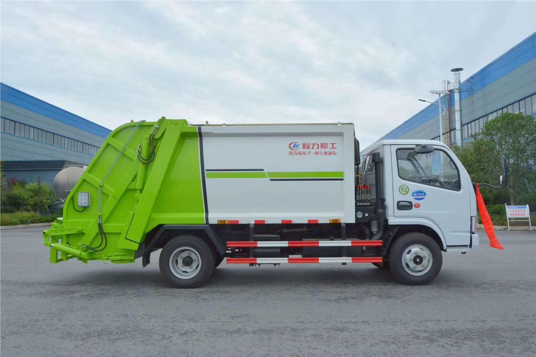 国五国六压缩垃圾清运车配置图片介绍