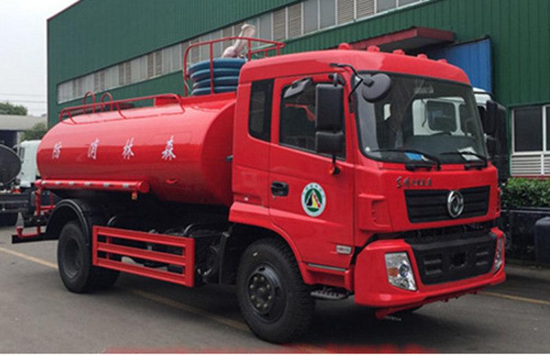 东风专底12吨消防洒水车-消防洒水车厂家直销图片