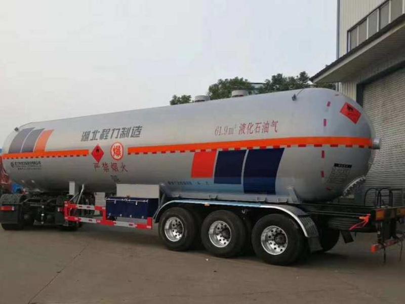 程力26吨液化气槽车有多重