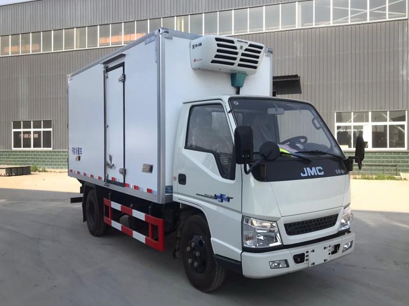 江铃顺达冷藏车4.2米_厢式冷藏车配置_型号_图片