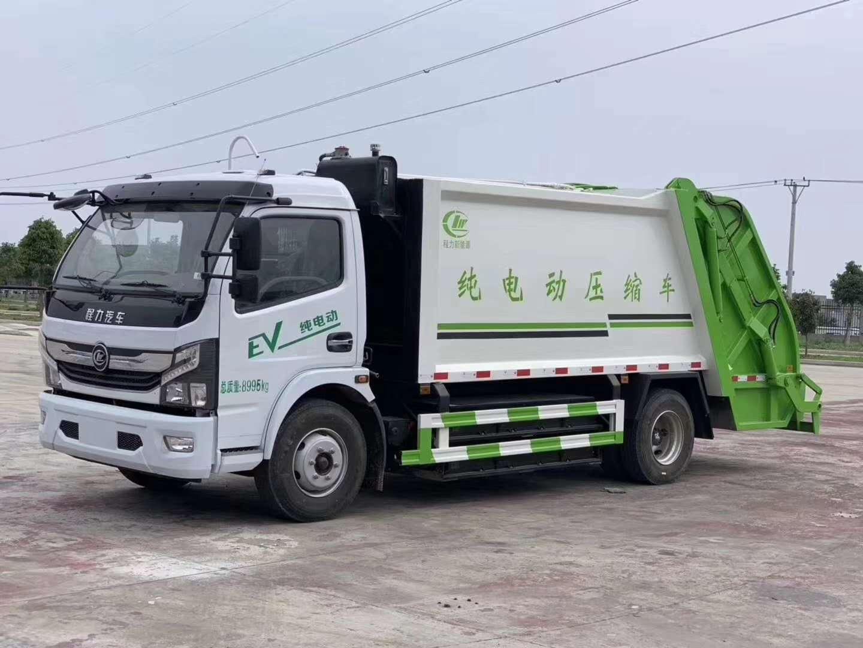纯电动8方压缩垃圾车厂家配置图片图片