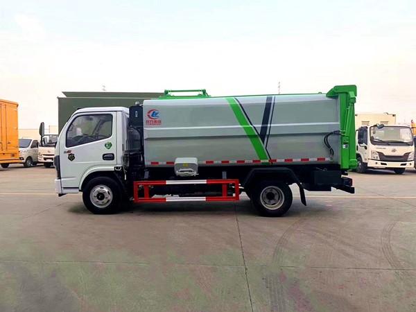 國六東風多利卡側裝壓縮垃圾車