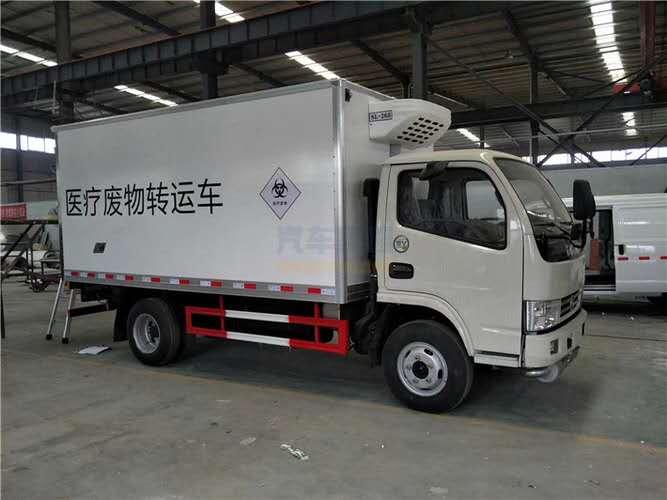 东风多利卡蓝牌4.1米医疗废物危险品运输车