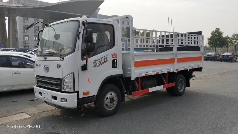 国六解放蓝牌气瓶运输车4米2气瓶运输车哪里有卖?