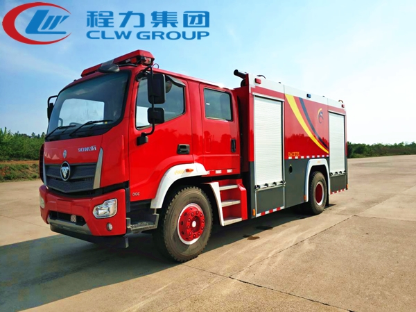 福田8吨泡沫消防车
