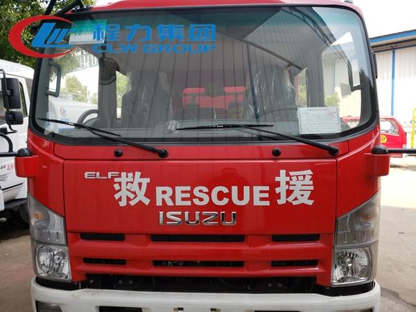 五十铃3.5吨泡沫消防车