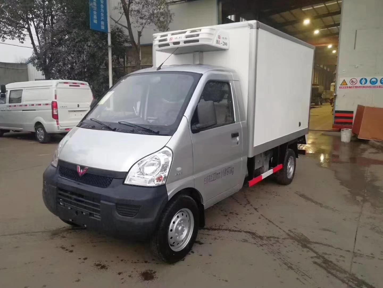 国六柳州五菱小型冷藏车