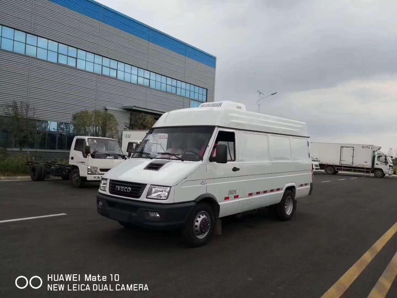 深圳福田面包冷藏车  牛奶运输车  超市冷冻食品专用车(图2)