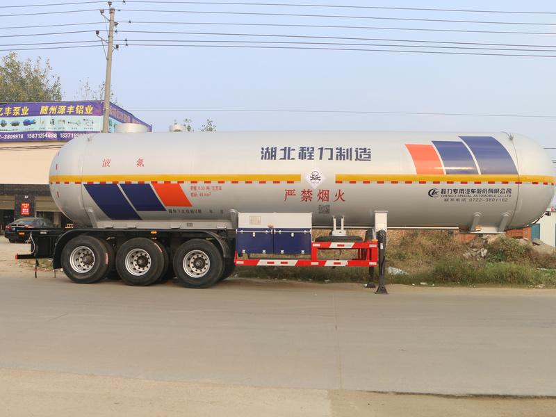 49.1立方液化气(无水氨)半挂运输车