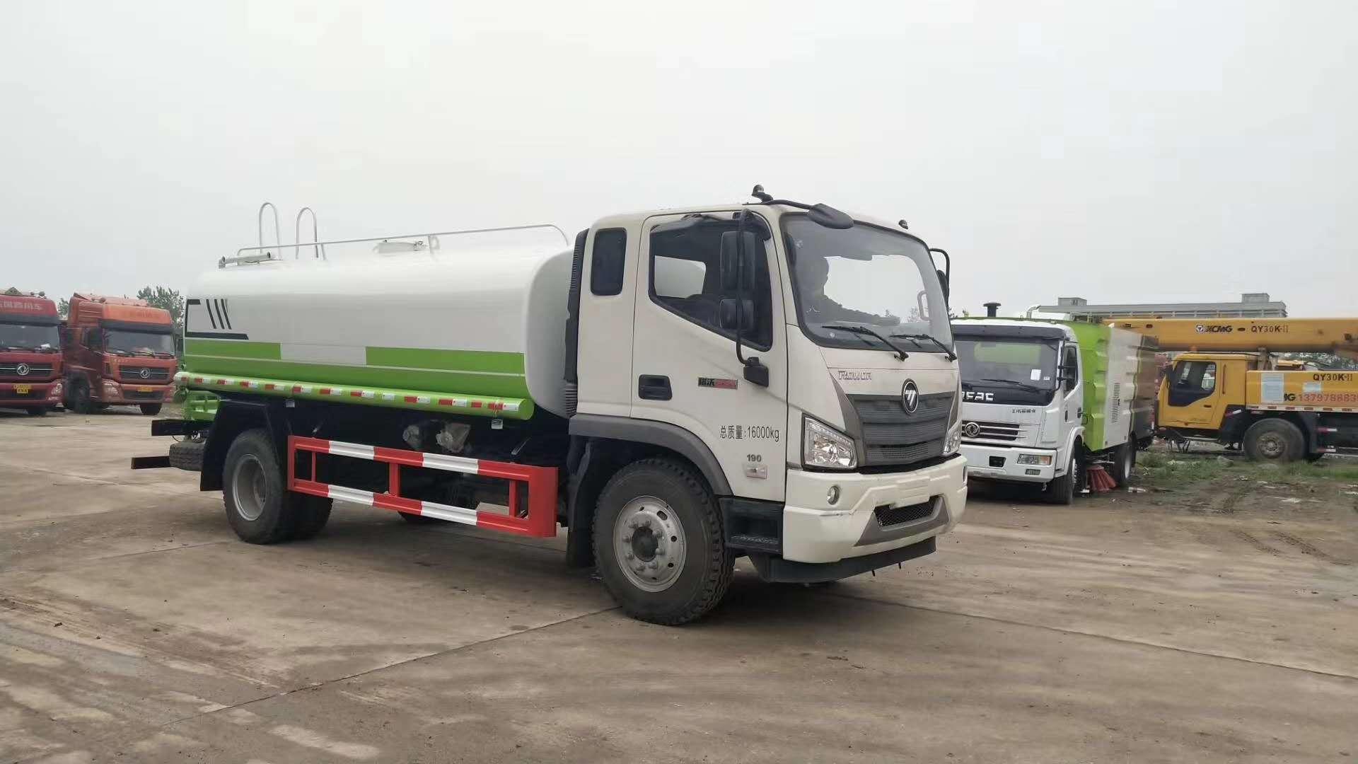國六12噸灑水車價格和配置