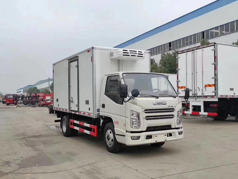 国六江铃顺达4.2米冷藏车