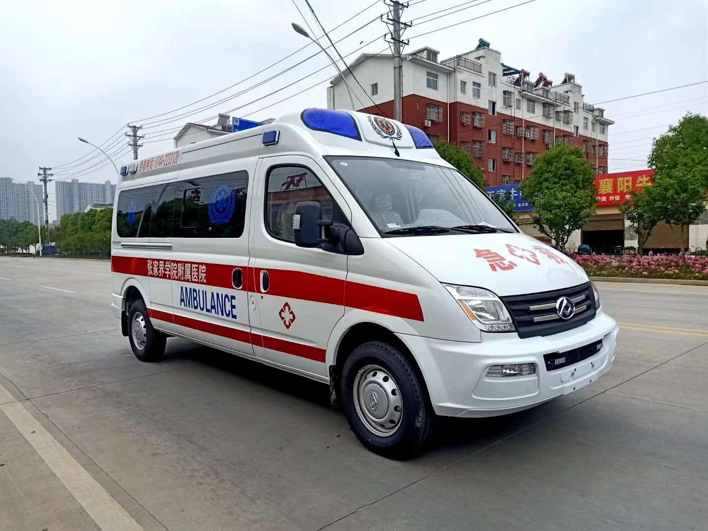 监护型负压型运输救护车现车直销图片