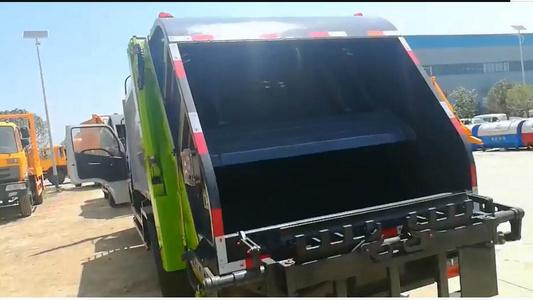压缩垃圾车视频