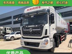 东风天龙40方20吨饲料车价格_前四后八饲料车厂家图片