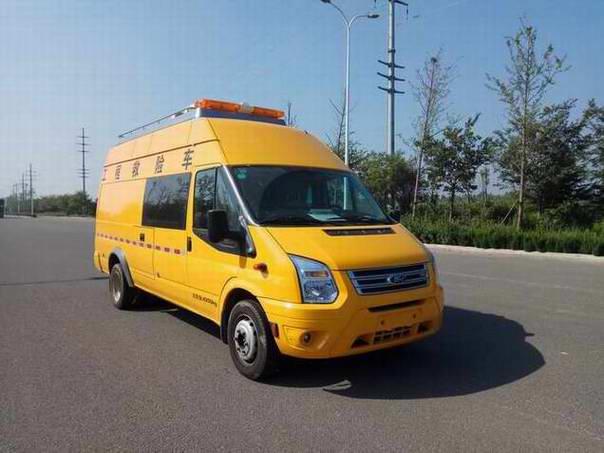 國六福特V348氣防救險車