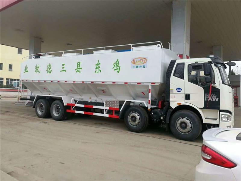 飼料車罐體有點超在遼寧阜新區域可以正常的上戶嗎
