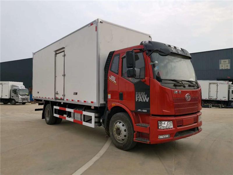 解放J6冷藏运输车 6米4冷藏车 7米6冷藏车 冷冻运输车