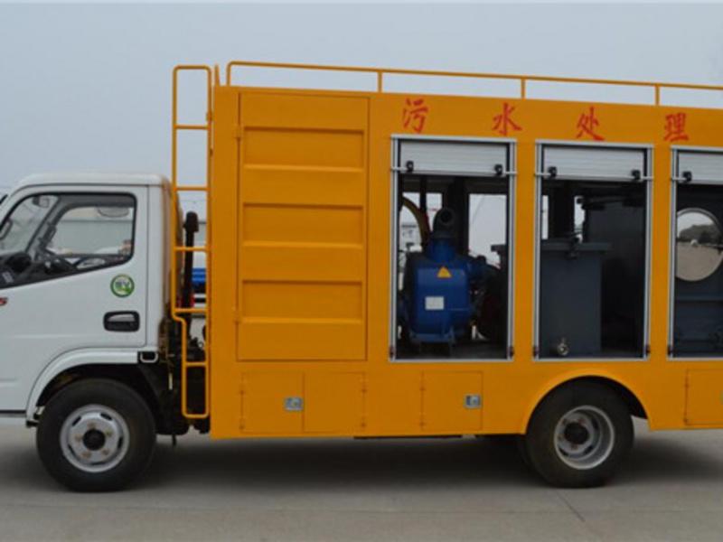 国六污水净化车价格、污水净化车厂家、图片及功能使用说明