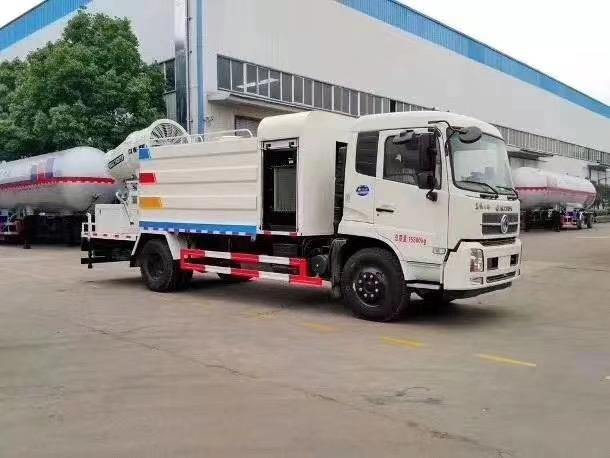 国六东风天锦12方多功能抑尘车优点