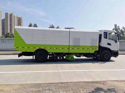 16吨东风天龙洗扫车厂家|报价|多少钱视频