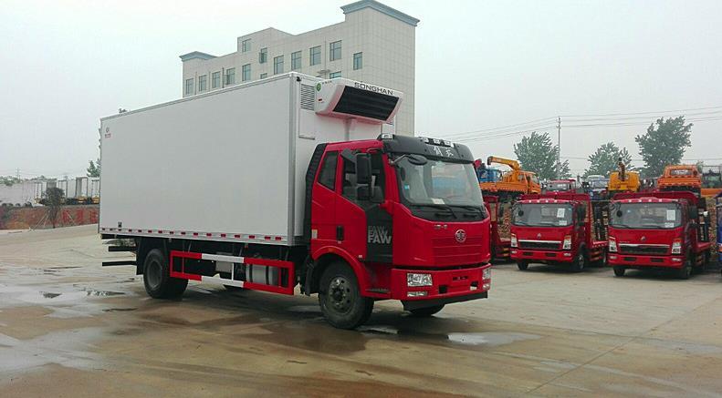 冷藏车6.8米程力厂家价格图片
