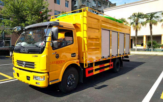 国六 东风多利卡污水处理车(5方)图片