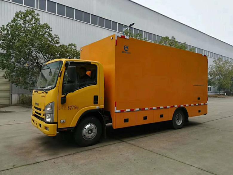 国六移动应急电源车厂家视频视频
