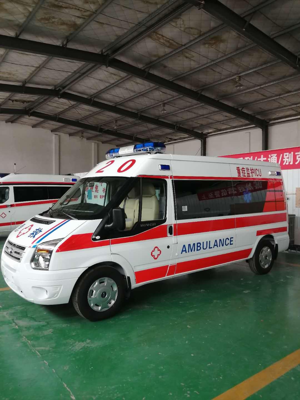 福特V348客运版负压救护车图片