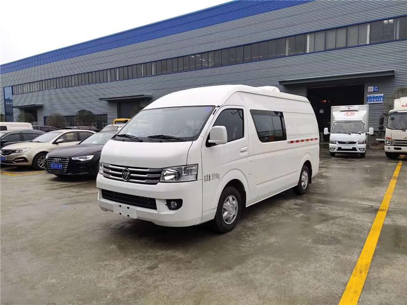 (国六)福田G9面包冷藏车