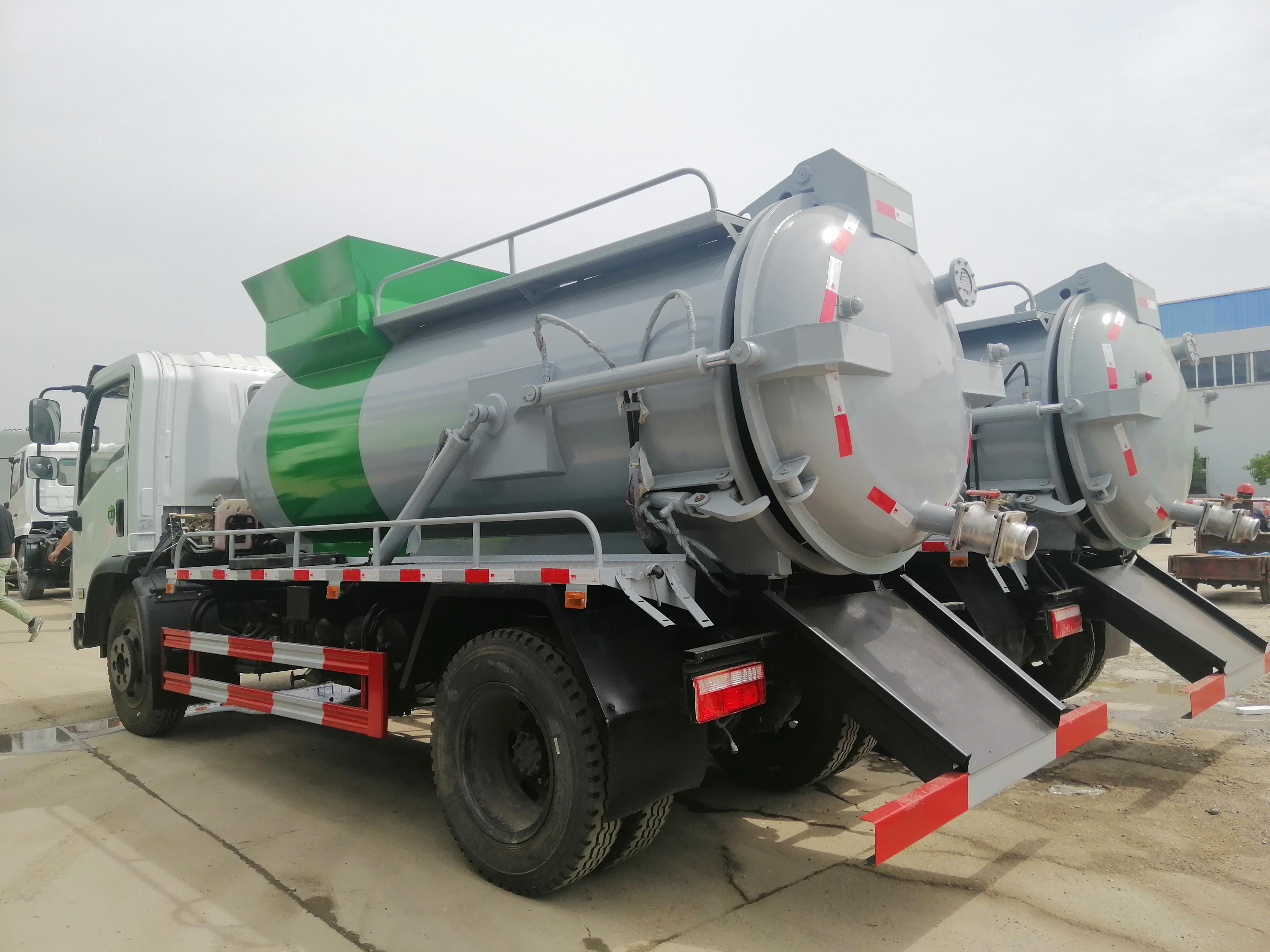 专业生产厂家改装高端餐厨垃圾车,配送图片