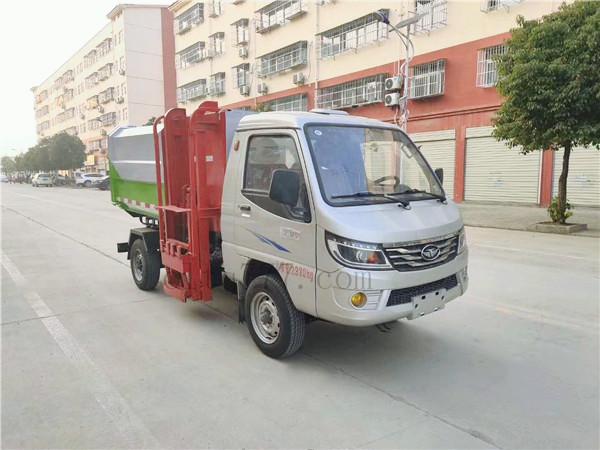 國六唐俊歐鈴4方掛桶垃圾車